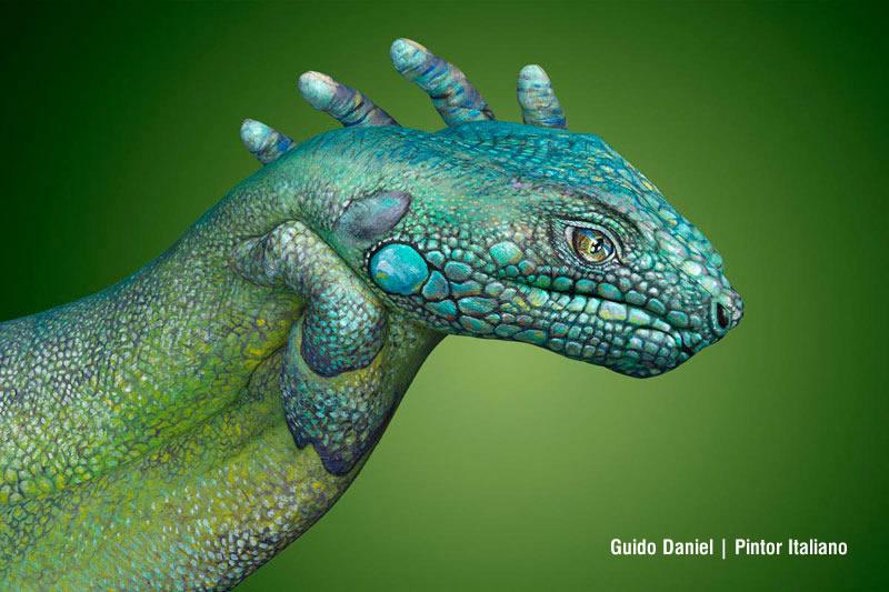 arte y pintura de manos fotografia creativa