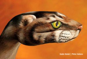 Arte pintura de manos de animales
