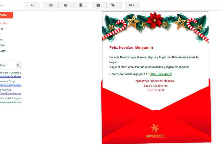 Campaña navideña Agencia Publicidad Peru