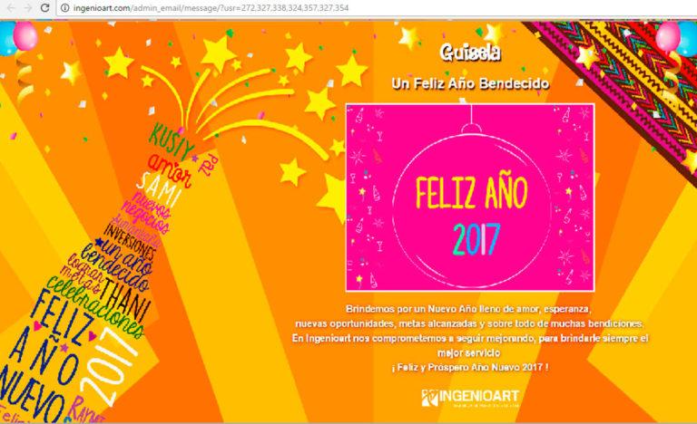 Campaña Año Nuevo Agencia Publicidad Peru