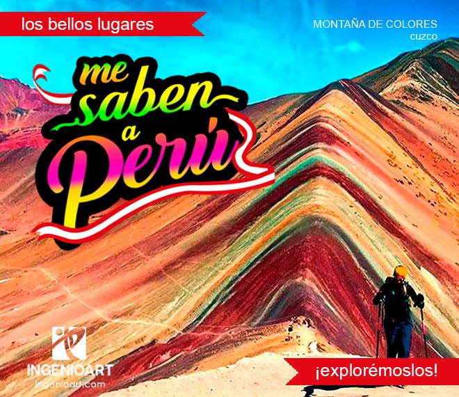 Campaña publicitaria fiestas patrias Cusco Peru