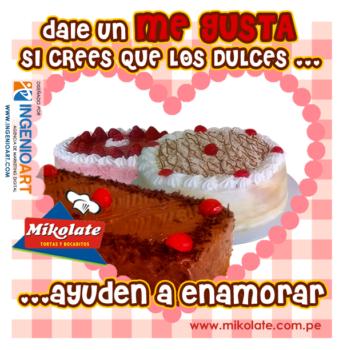 Diseños para Facebook de Pasteleria