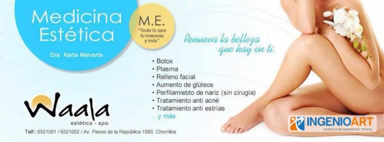 Diseños para Facebook de Salon Spa Peru
