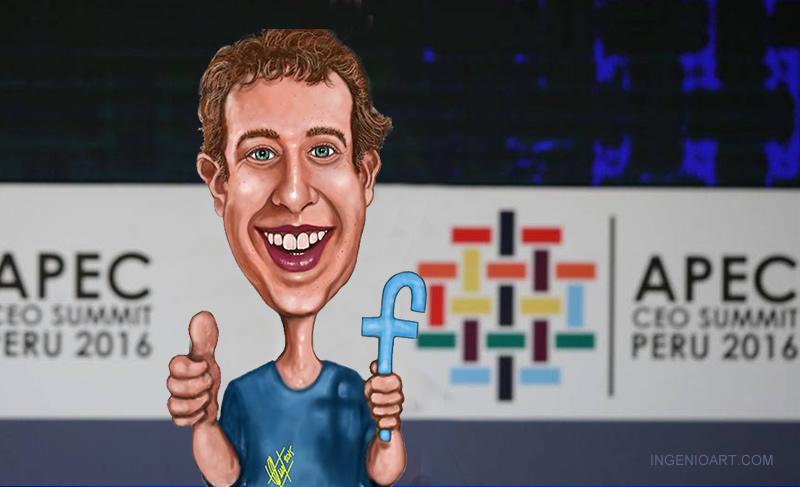 estadisticas facebook Lima Peru Apec
