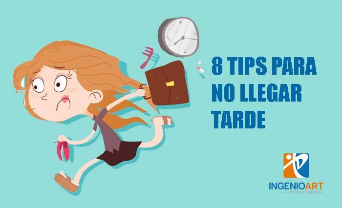 ocho consejos para no llegar tarde Lima