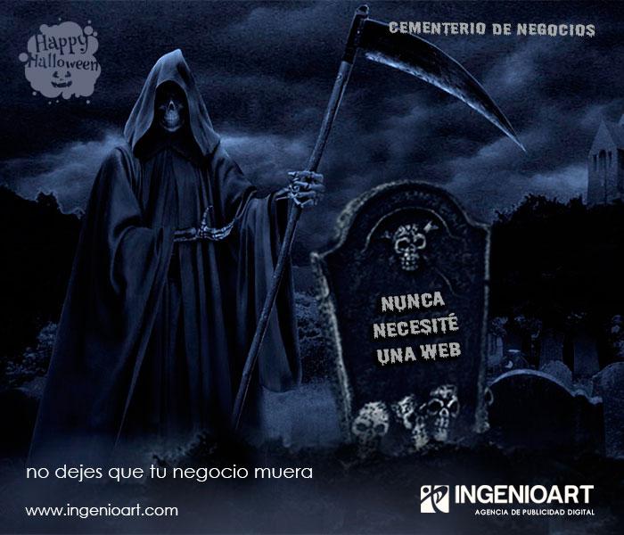 campaña publicitaria web halloween lima