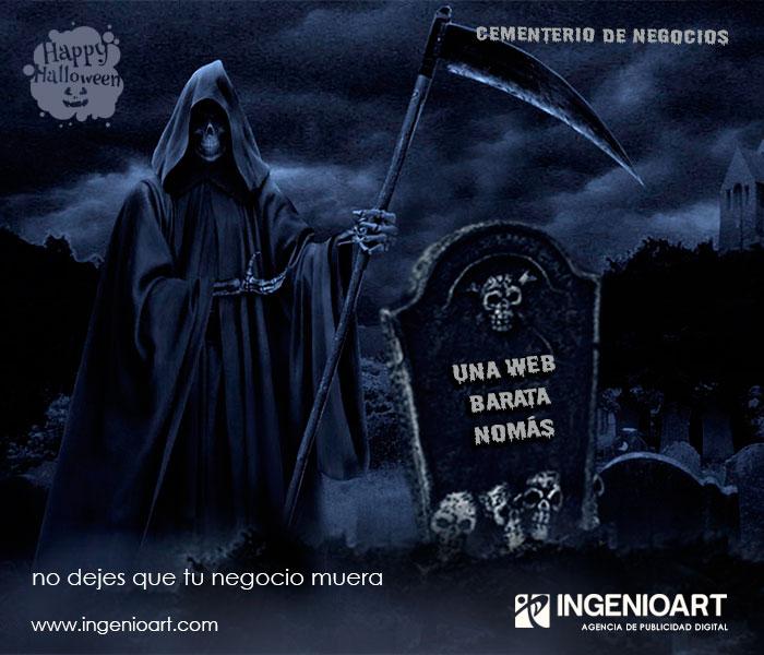 campaña publicitaria web hallowen Lima