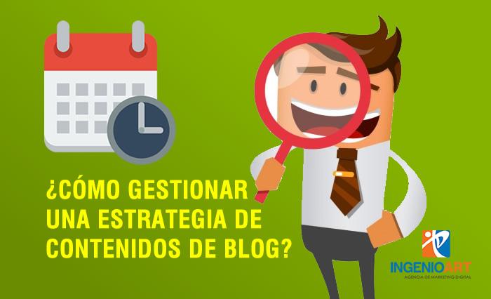 Gestionar una estrategia de contenidos Peru