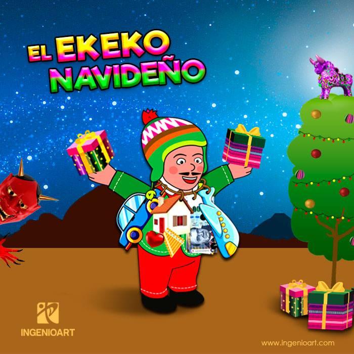 el ekeko navideño sierra peruana