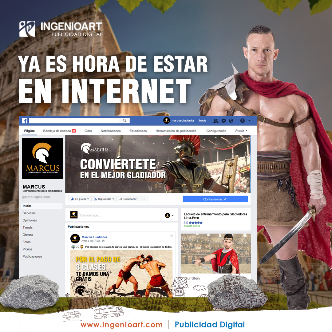 Publicidad creativa para facebook peru