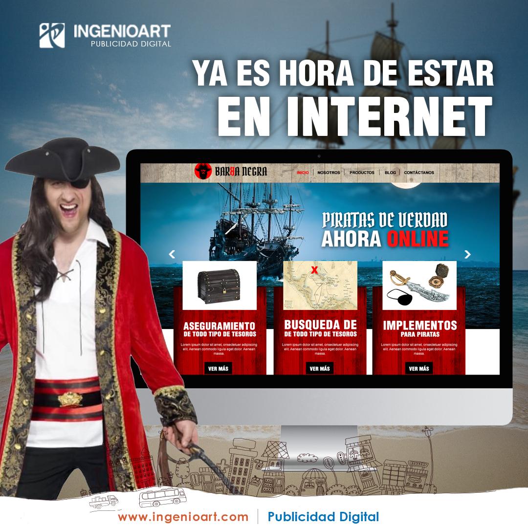 pirata hora de estar en internet peru