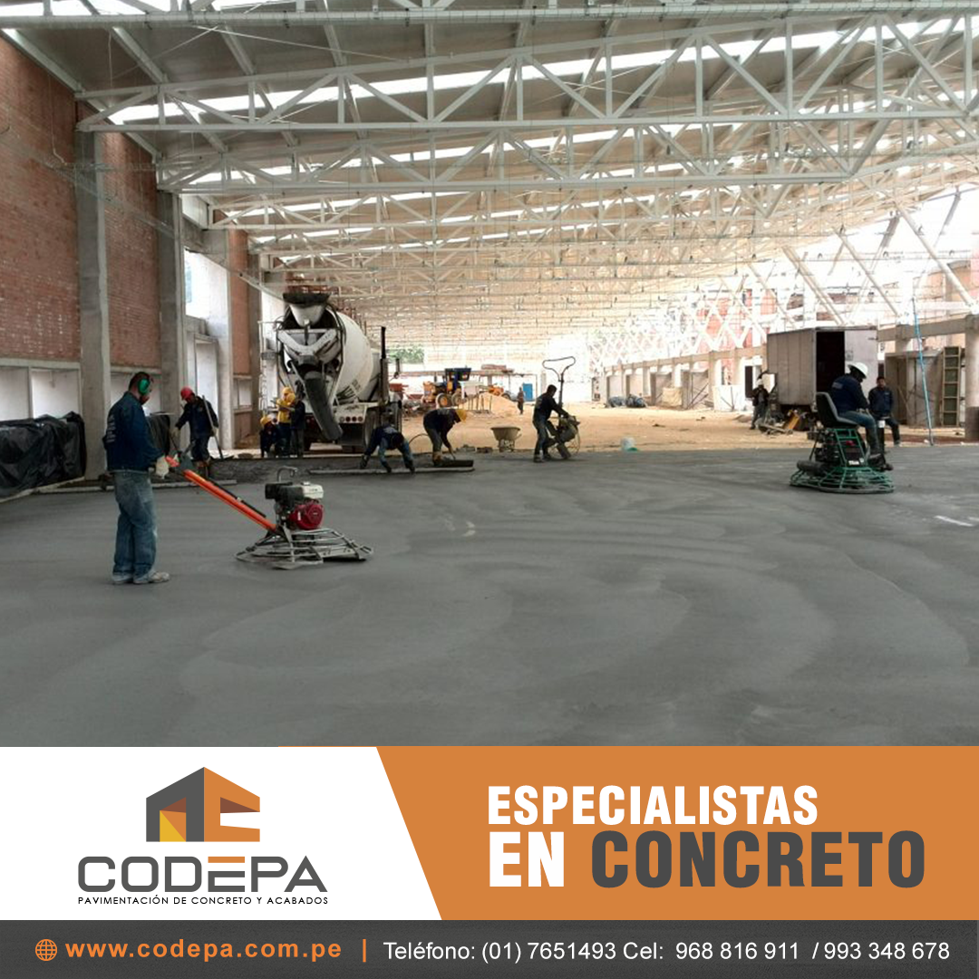 Pisos industriales e impermeabilizacion Lima