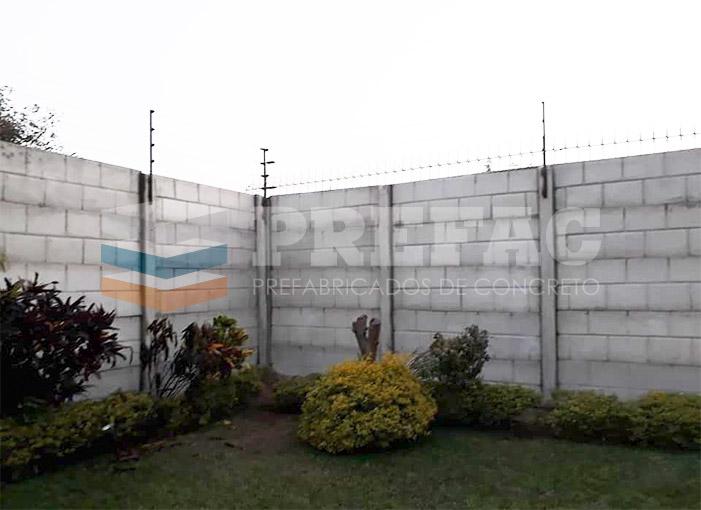 Cercos Prefabricados de construcción Lima Perú