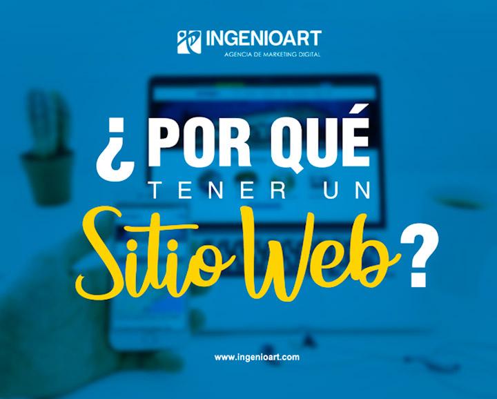 Por que tener una pagina web