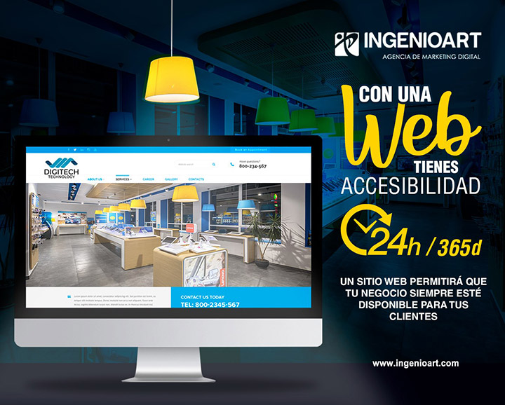 Importancia Paginas Web Empresas Lima Peru