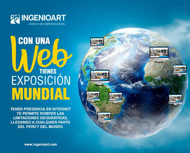 Publicidad Internet Web Lima Peru