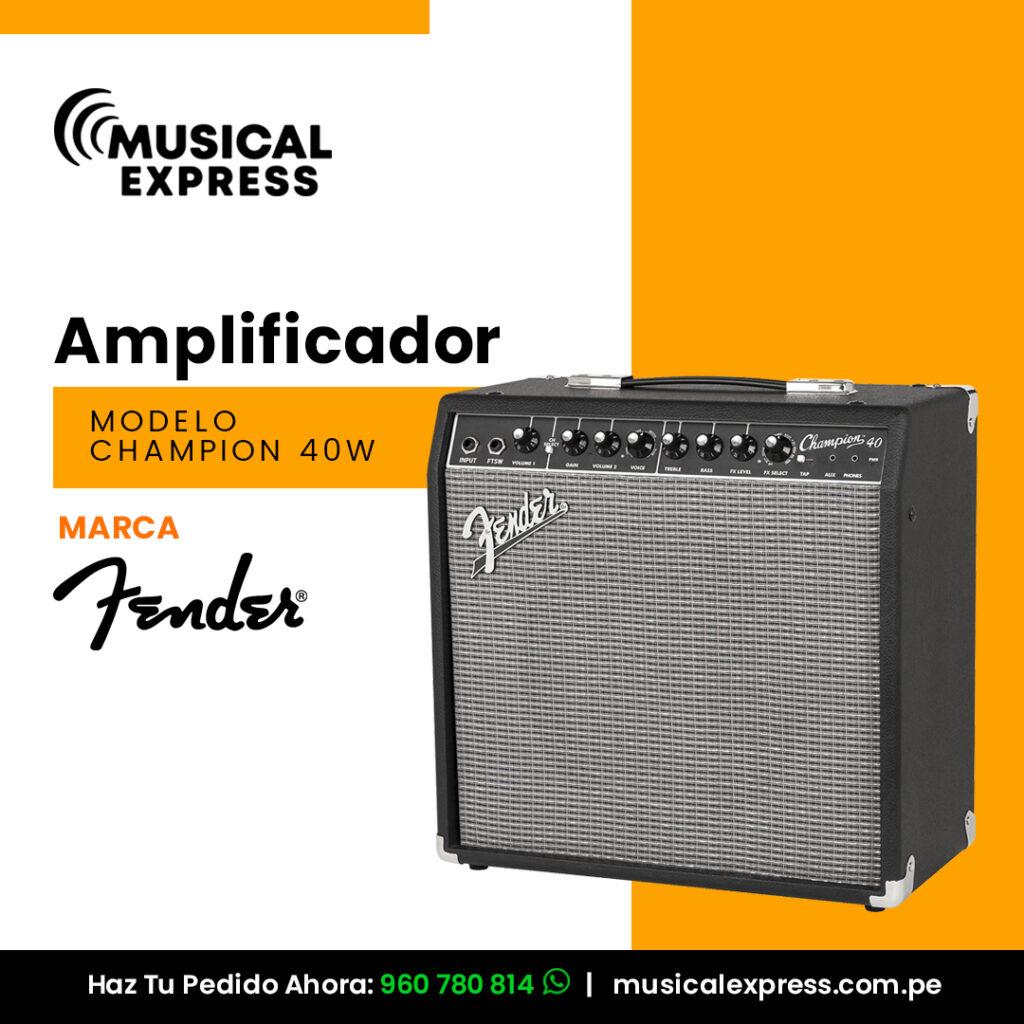 venta amplificadores sonidos Peru