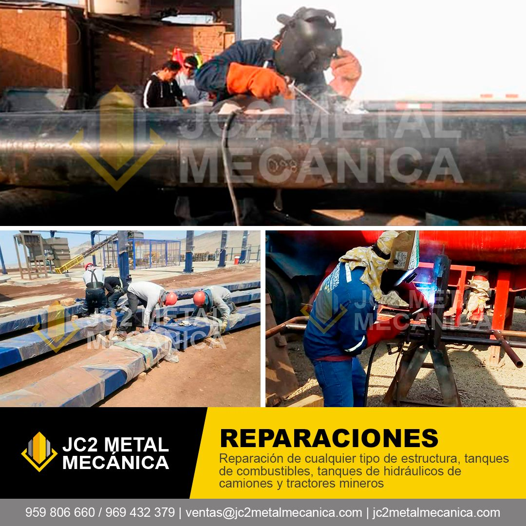 Mantenimiento Reparacion Metal Mecanica Peru