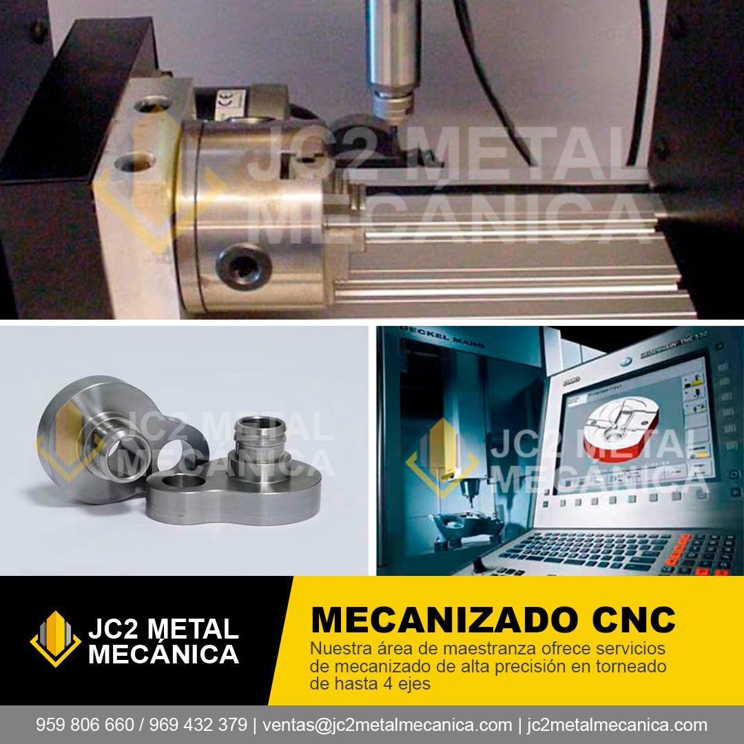 Fabricacion mecanizado CNC Lima Peru