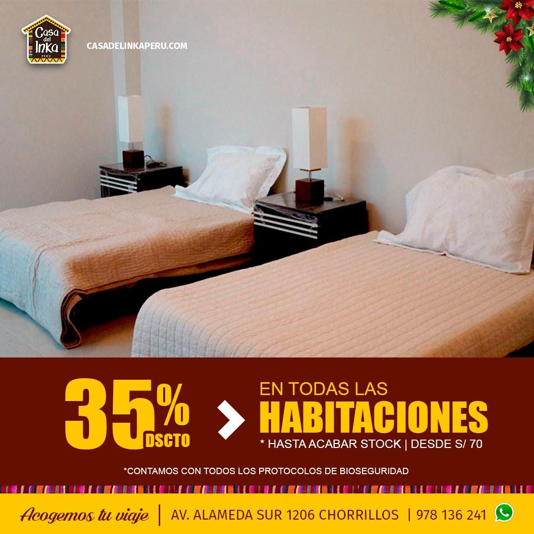 Hotel turistico Chorrillos Lima