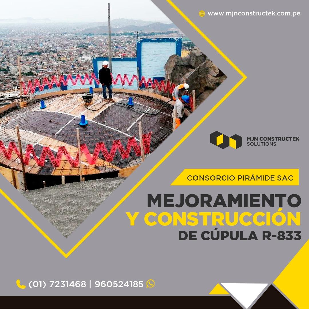 Construcción Reservorio Agua Desague Peru (2)