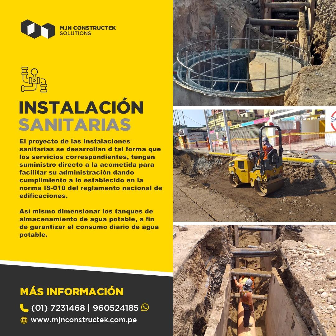 Ejcución de Obras civiles Lima Peru