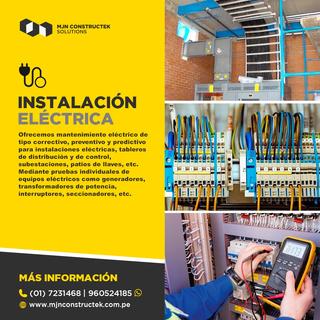 Instalacion Electricas Drywall Lima Peru (1)
