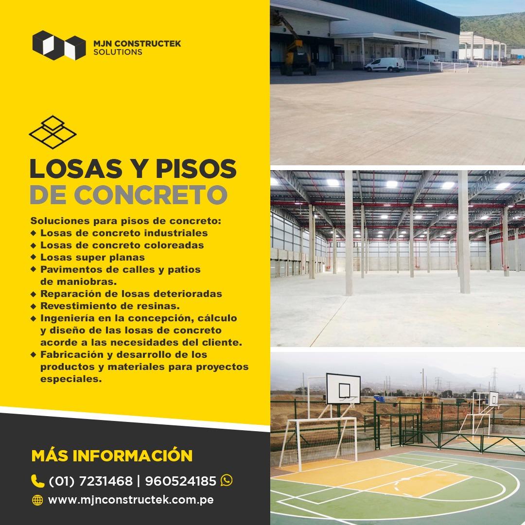 Losas Concreto Lima Peru