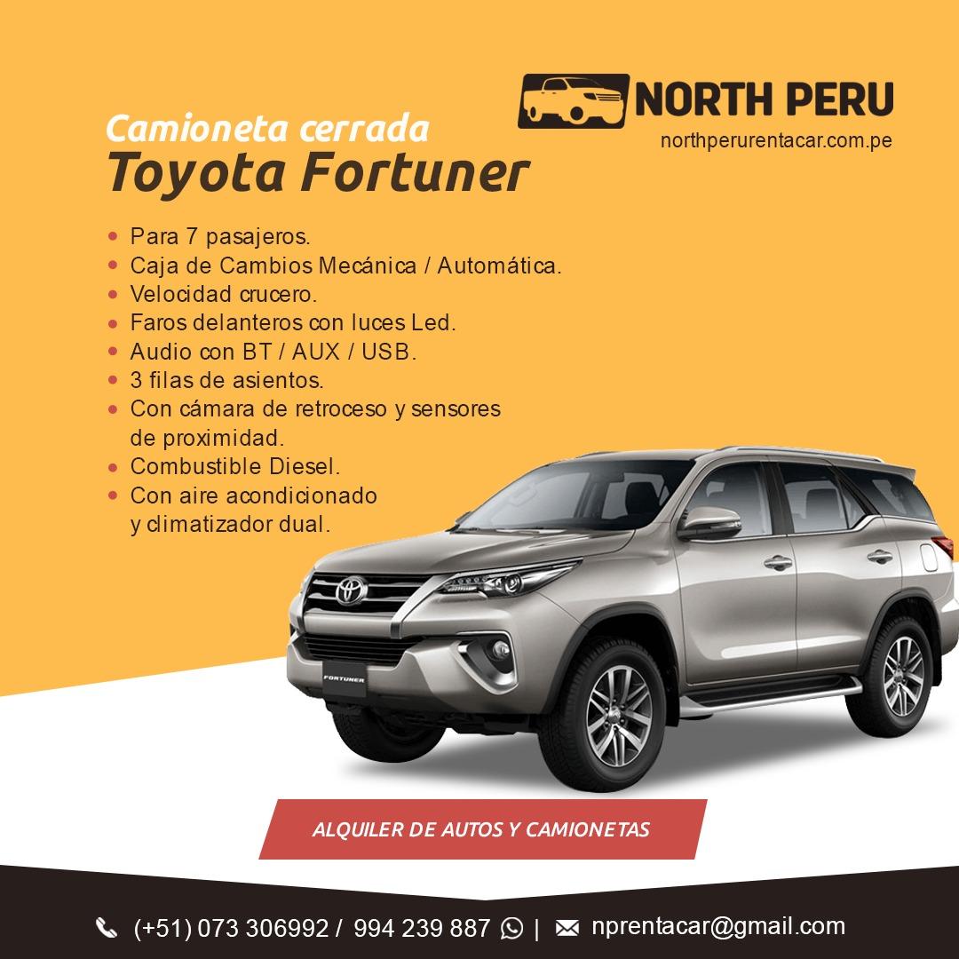 Alquiler Autos y Camionetas Piura Talara Tumbes