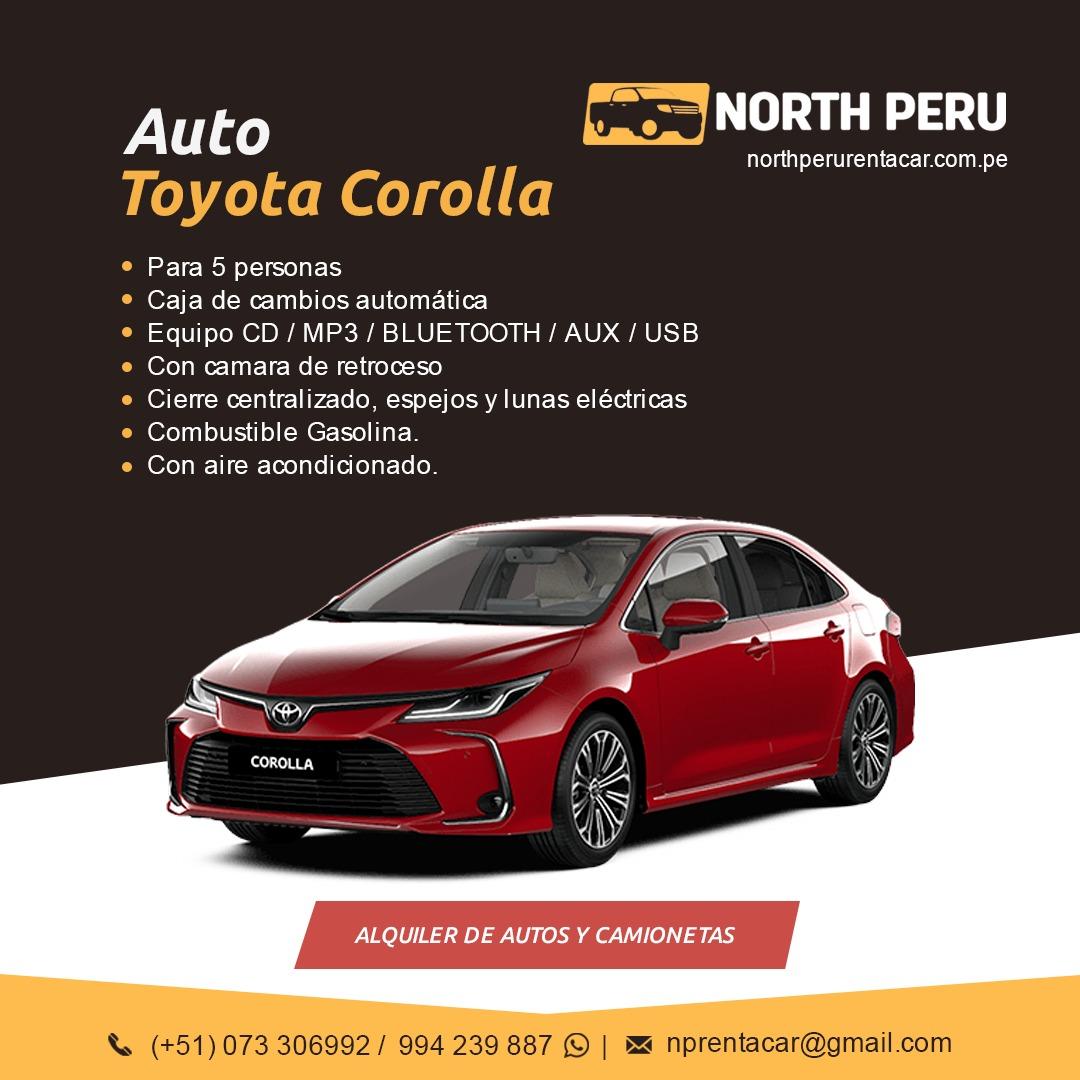Renta Carros Piura Talara Tumbes Peru