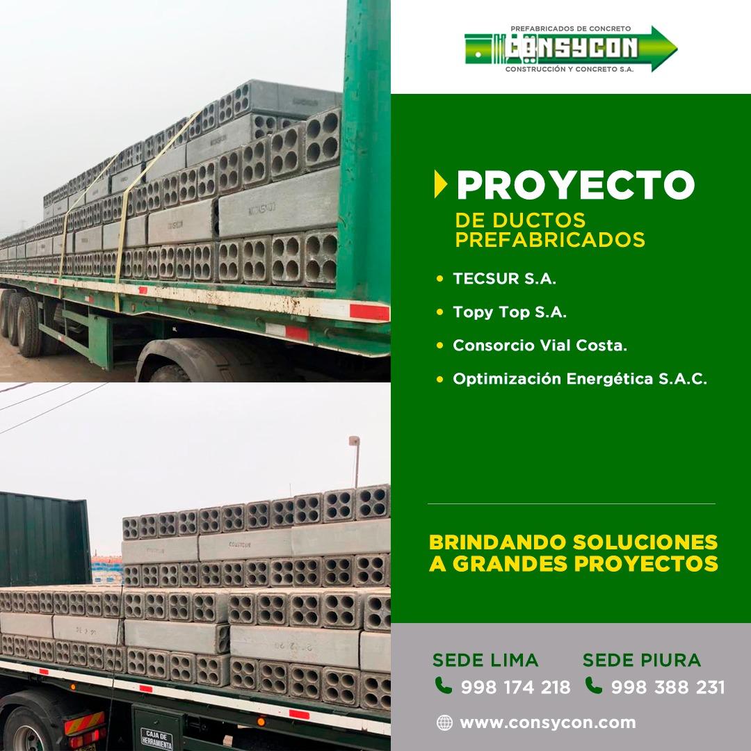 Proyectos Prefabricados Concreto Peru
