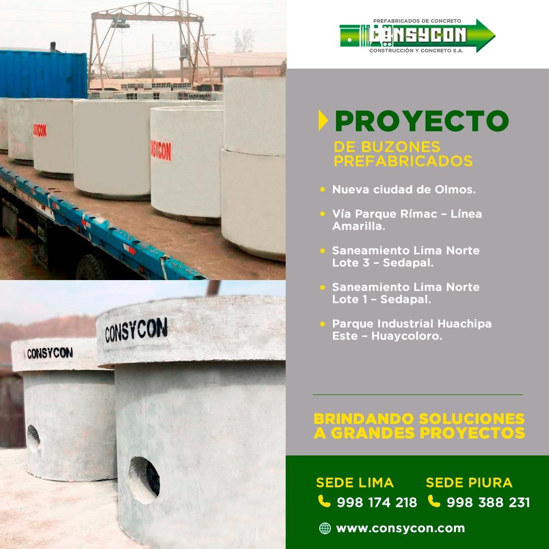 Venta de Prefabricados Hormigón Lima Perú