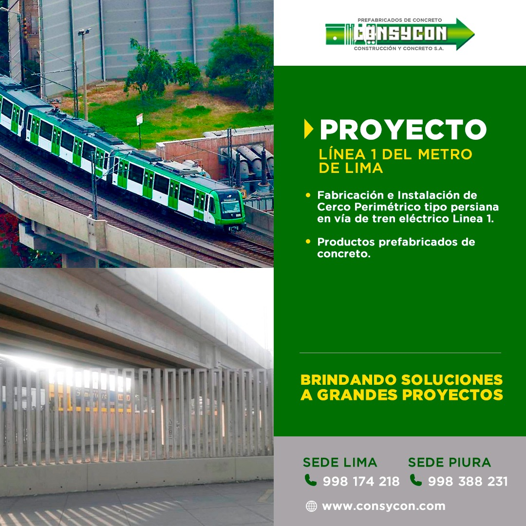 Obras Civiles Prefabricados Concreto Peru
