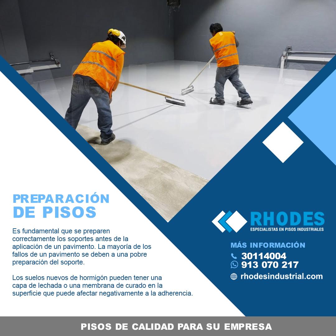 Profesionales es Pisos Industriales Peru